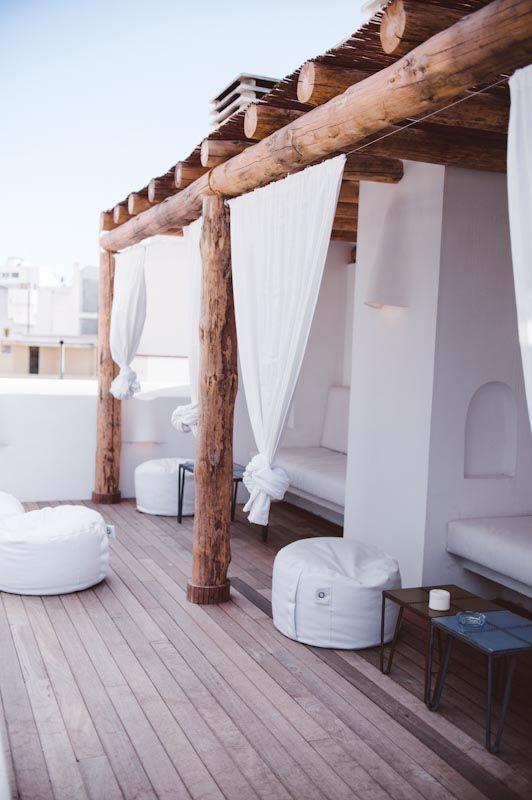Ibiza sfeer in de tuin thestylebox for Terrazas ibicencas