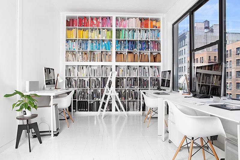 IKEA Kallax kast kantoor