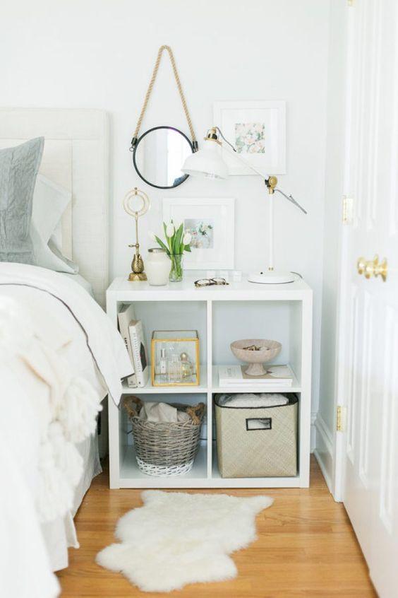 IKEA Kallax nachtkastje