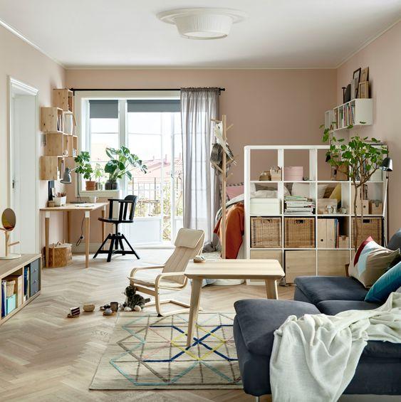 IKEA Kallax roomdivider