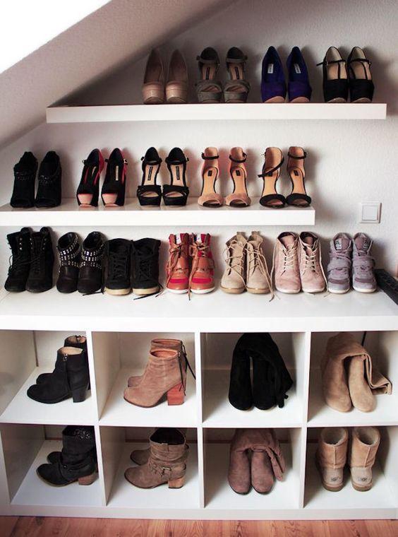 IKEA Kallax schoenenkast