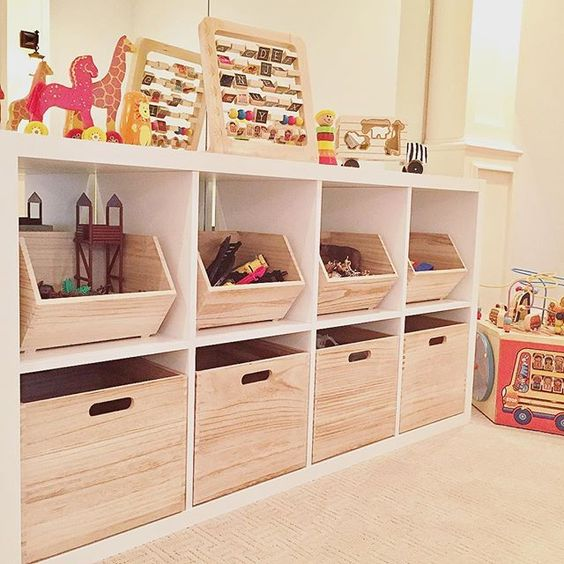 IKEA Kallax speelgoedkast