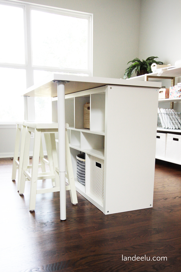 IKEA Kallax tafelpoot