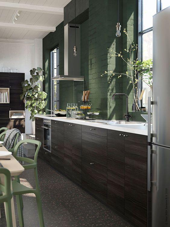 IKEA keuken TINGSRYD houteffect