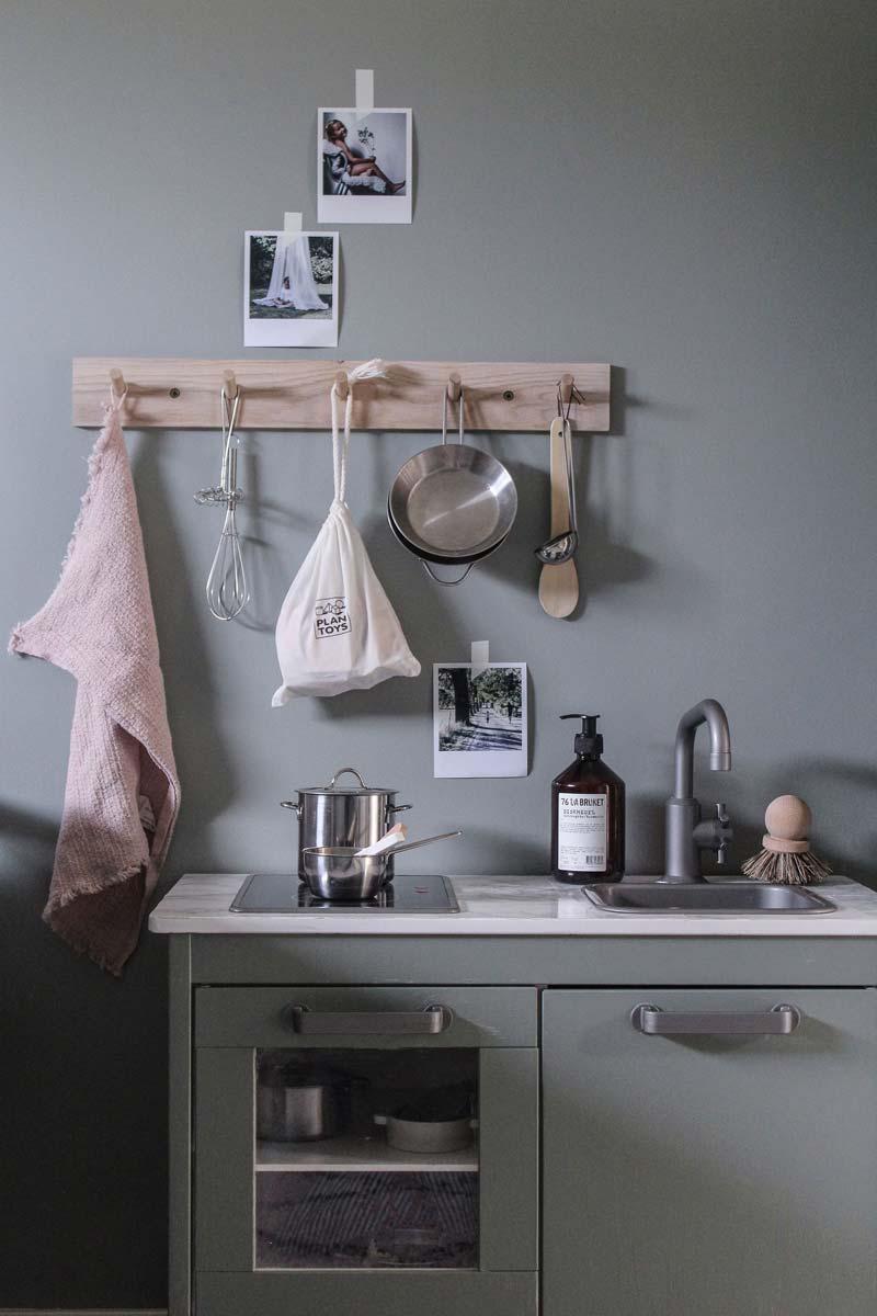 ikea keukentje grijsgroen
