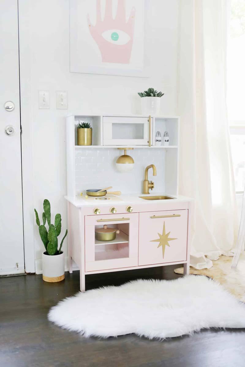 ikea keukentje roze
