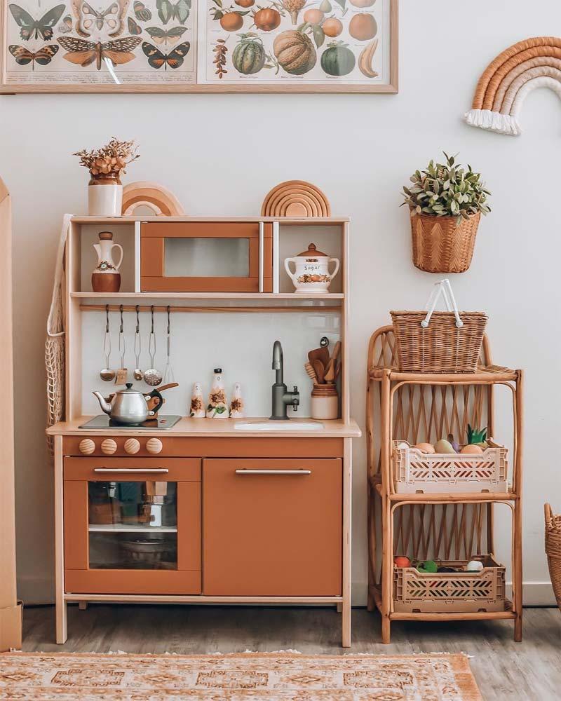 ikea keukentje terracotta