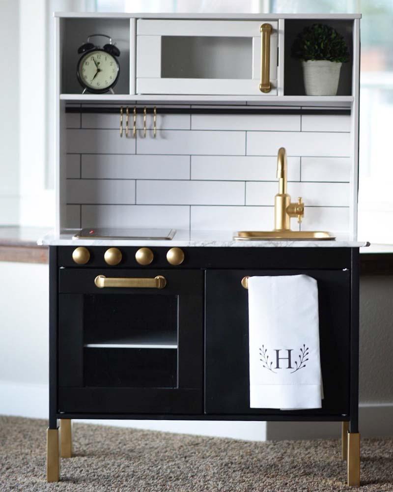 ikea keukentje zwart