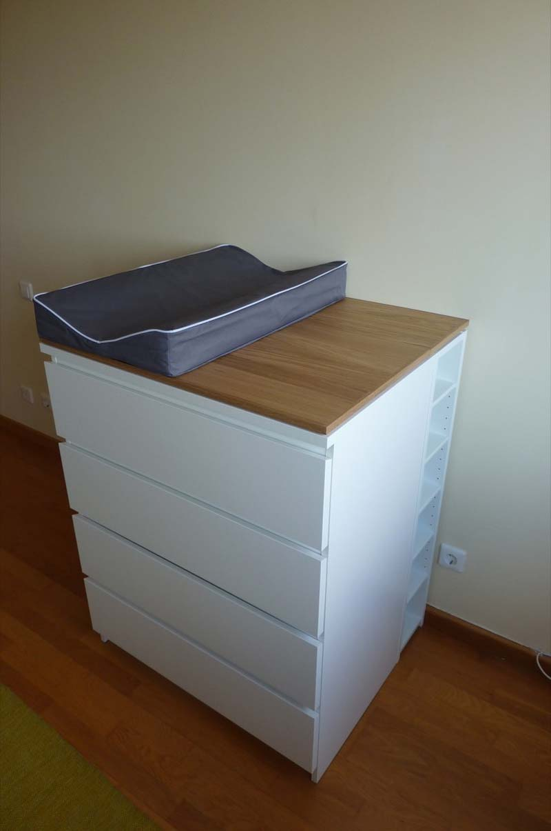 ikea ladekast hack commode