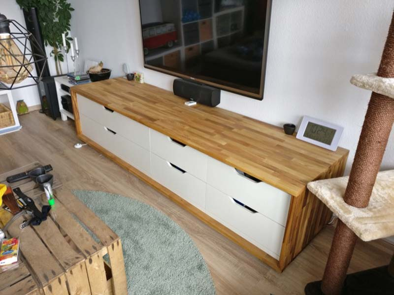 IKEA Stolmen TV meubel hack