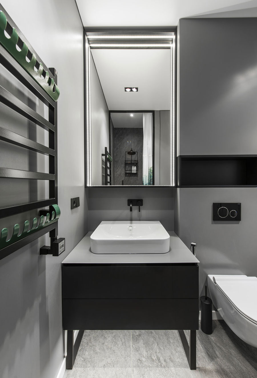 In dit stoere kleine appartement vind je super leuk ideeën!