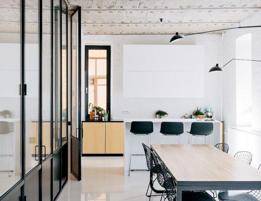 industrieel appartement
