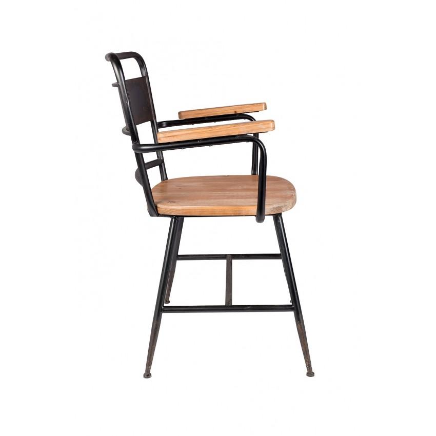 Industriële Livingstone Design Riverton stoel