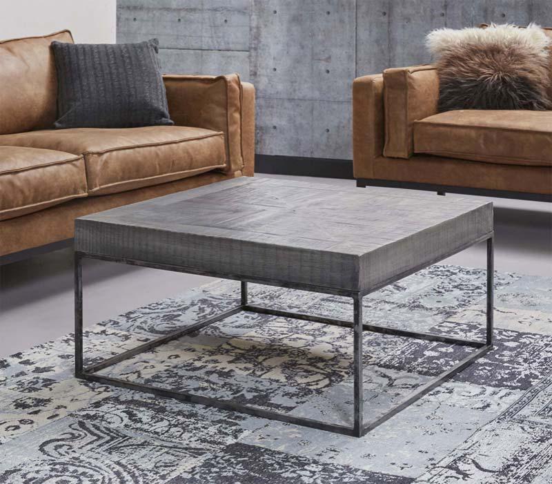 industriële salontafel beton