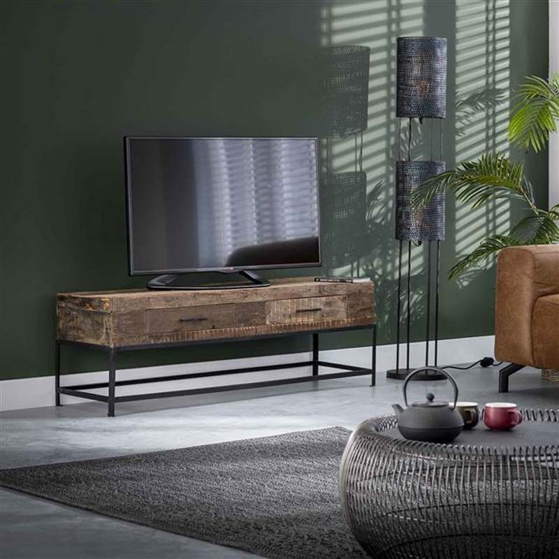 industriele tv meubel woonkamer