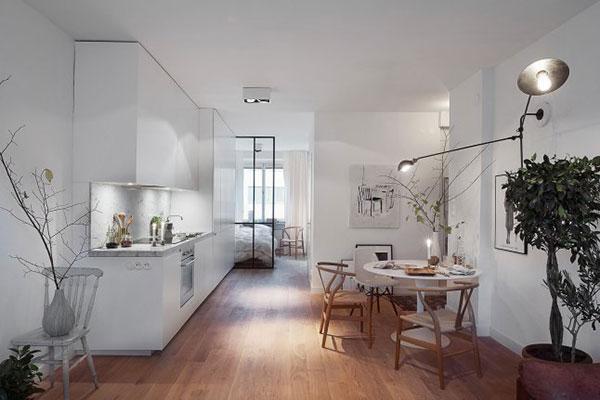 Inrichting Slaapkamer Klein : ideeën klein appartement inrichten ...