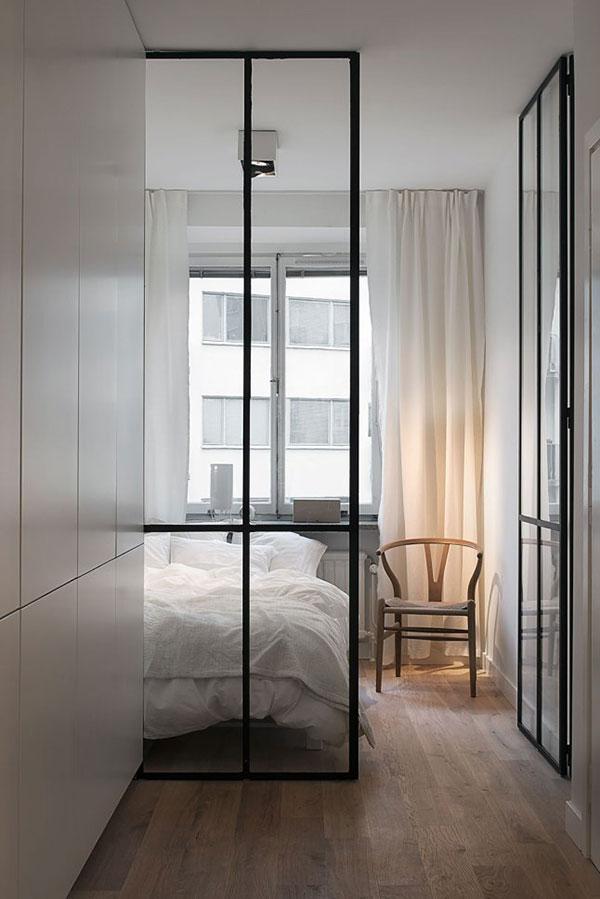 Inrichting klein appartement van 39m2