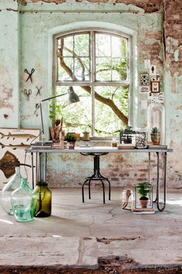 inspirerende werkplek groen