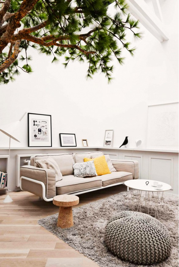 interieur accentkleur geel