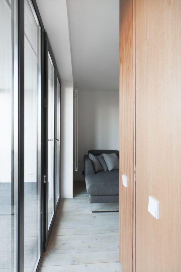 appartement hout slaapkamer
