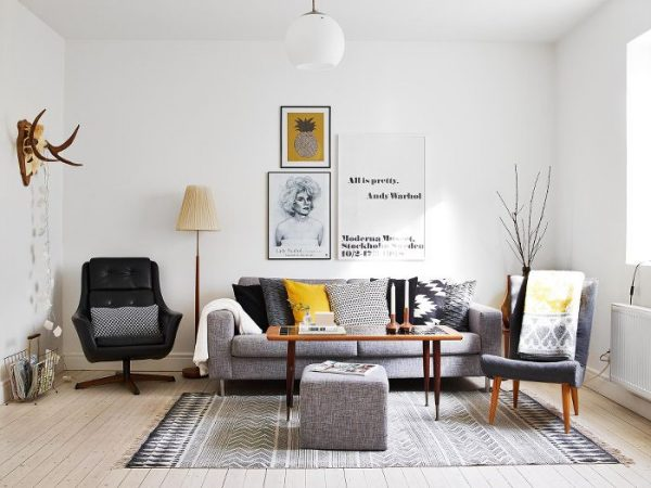 Huis Donker Hout : Donker hout in de woonkamer thestylebox