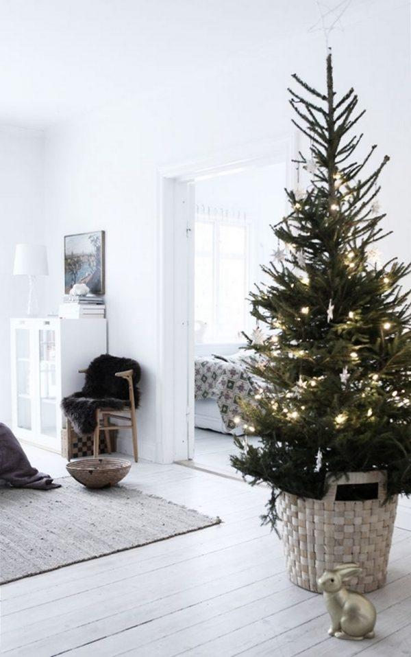 kerstboom woonkamer