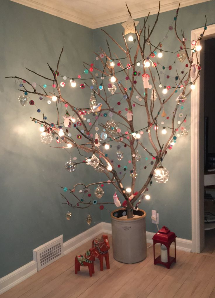 kersttak versieren met verlichting-2