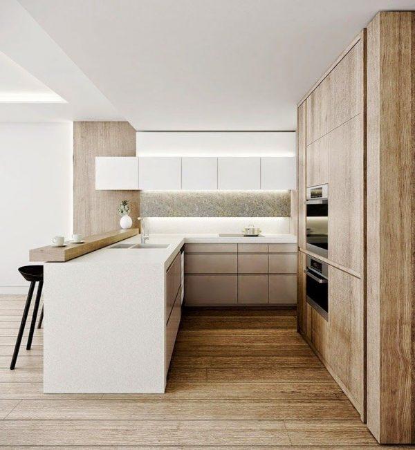 keuken eiland hout