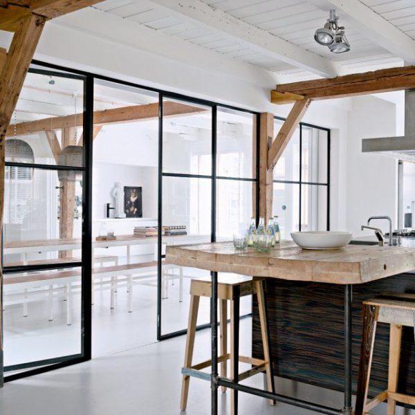 keuken open deuren
