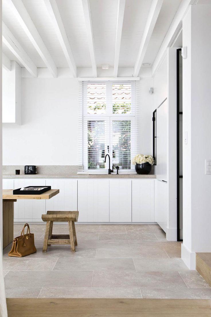 Eiken Keuken Wit Verven : Witte keuken THESTYLEBOX