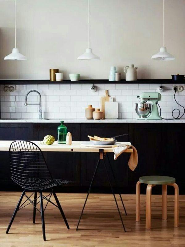 keuken zwartwit