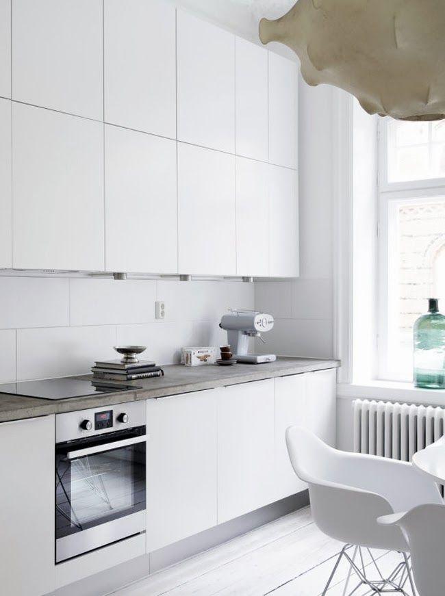 Beton Keukenblad : Betonnen keukenblad