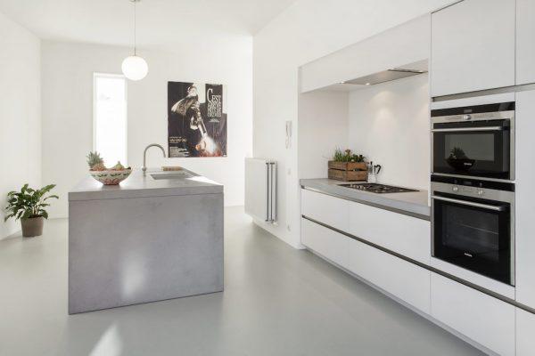 keukenwerkbladen beton minimalistisch