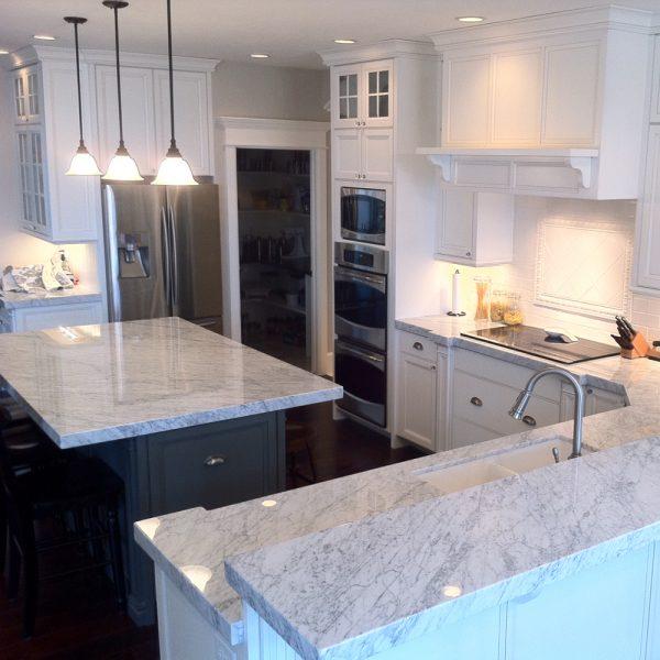 keukenwerkbladen marmer