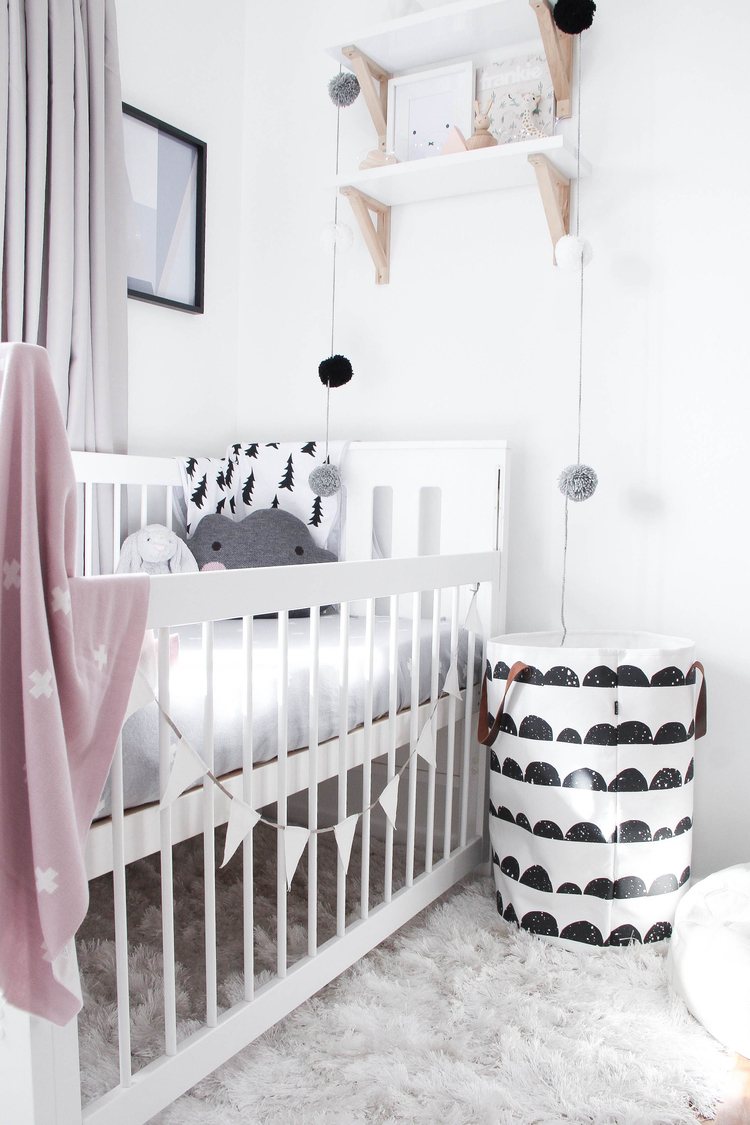 Scandinavische babykamer   thestylebox