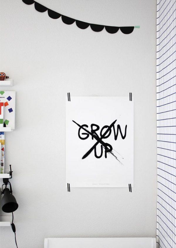 kinderkamer poster grow up