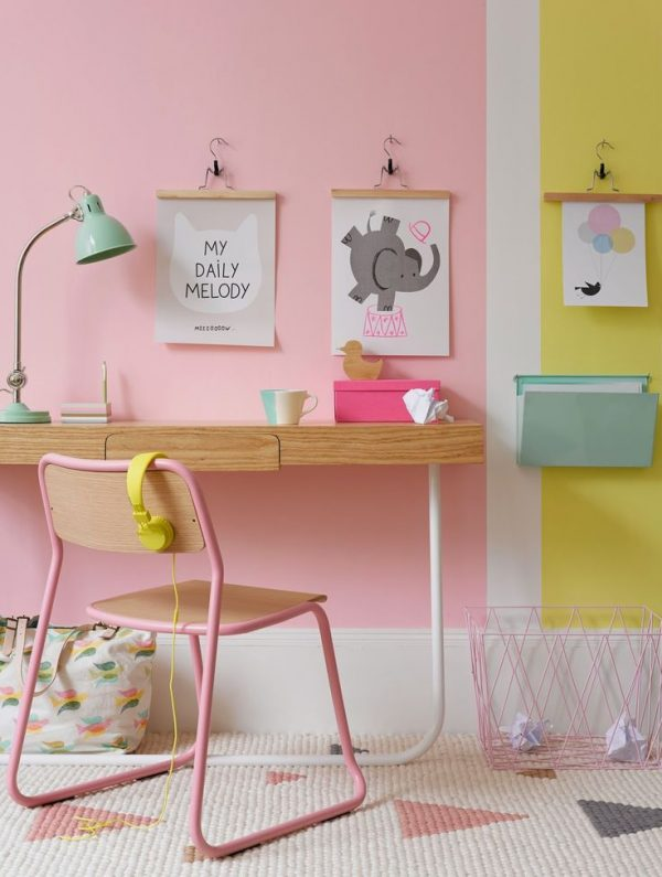 Kinderkamer poster thestylebox - Kinderkamer kleur ...