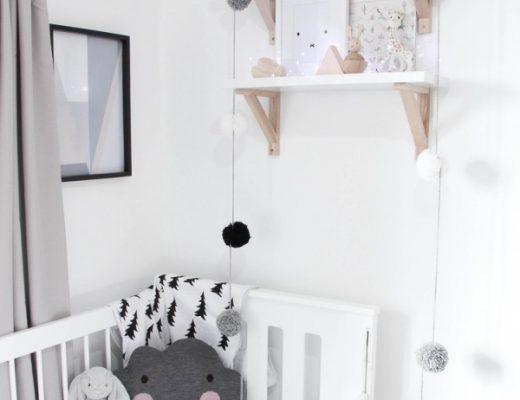 babykamer scandinavisch