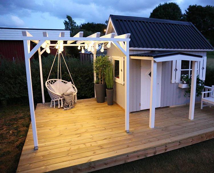 kindvriendelijke tuin tips speelhuis
