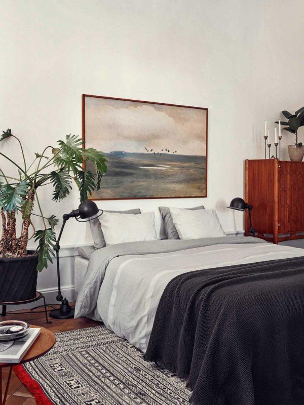 klassiek schilderij slaapkamer