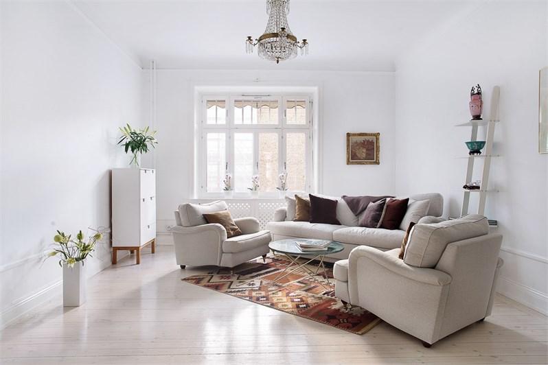 scandinavisch klassiek appartement thestylebox