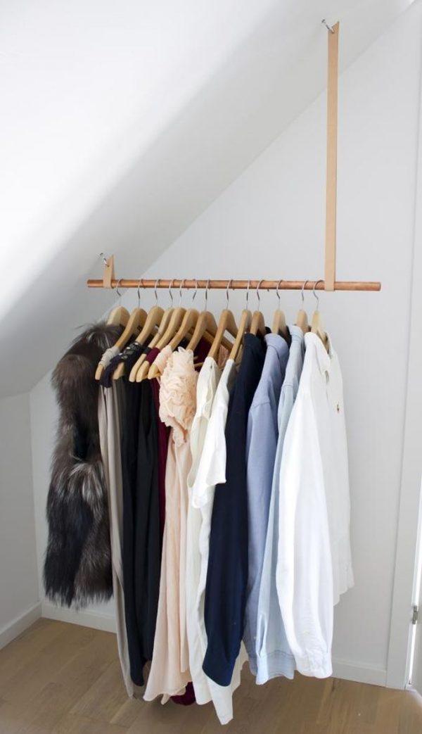 kleding opbergen zolder