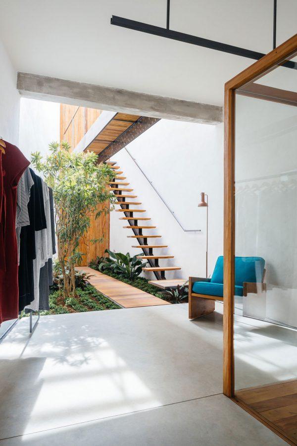 kledingzaak indoor tuin