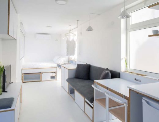 Shoebox apartment - klein appartement van 15m2