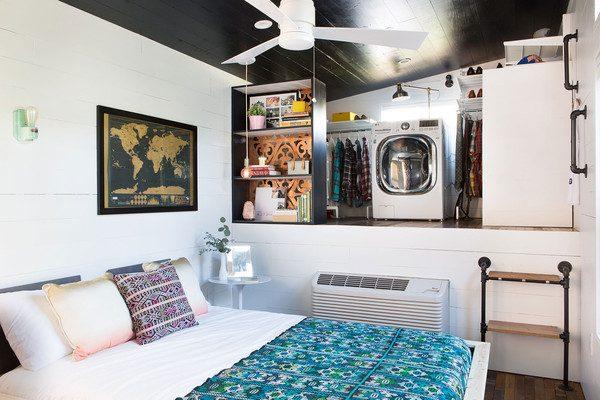 klein huisje texas slaapkamer