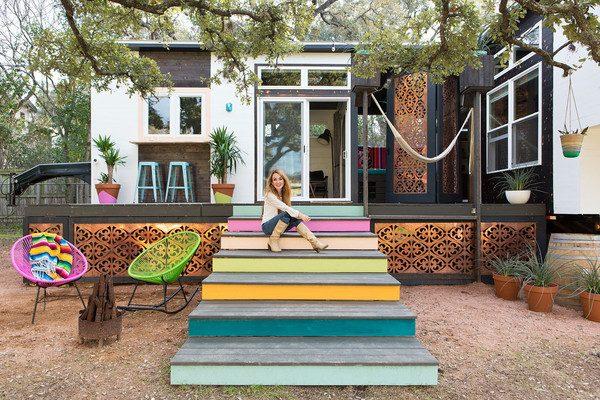 klein huisje texas tuin