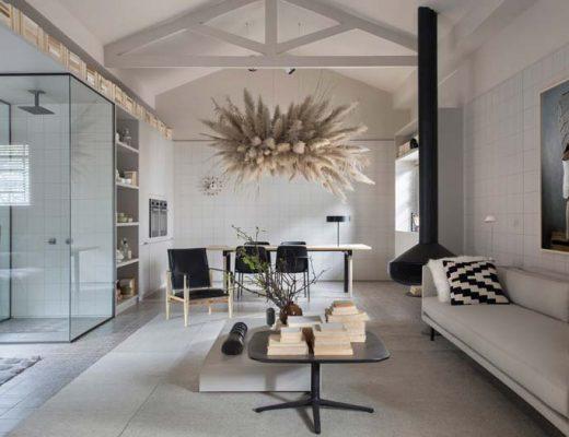 Klein modern loft appartement van 65m2