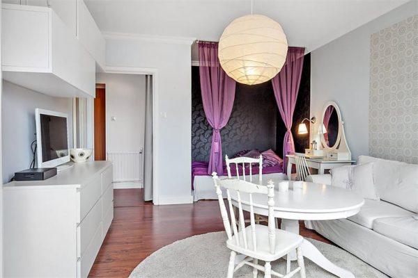 klein scandinavisch appartement