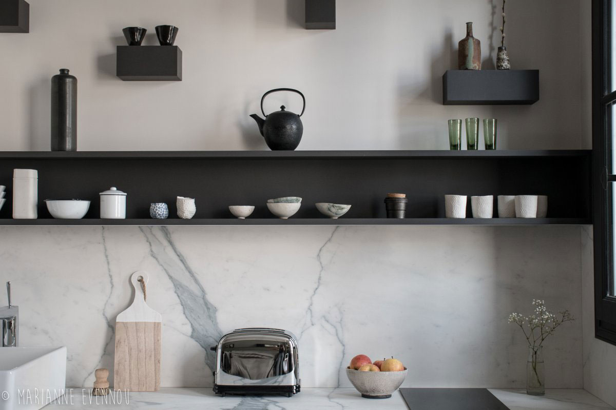 Klein studio appartement van 19m2 in Parijs