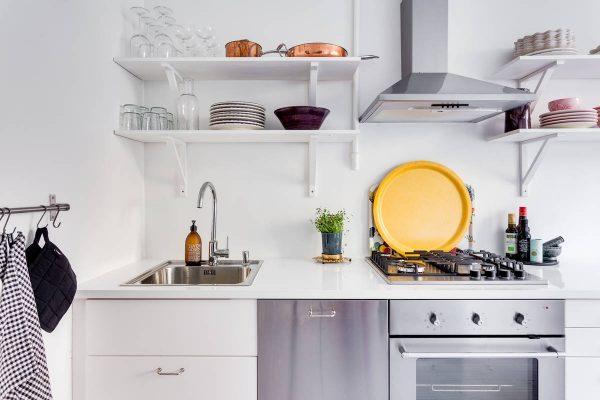 klein wonen keuken